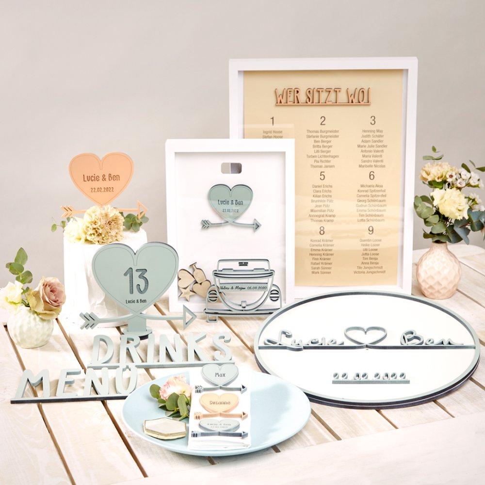 Hochzeit-Set Herz