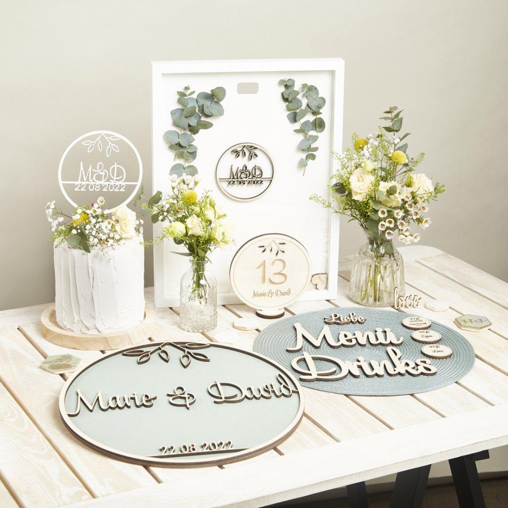 Hochzeit-Set Vintage