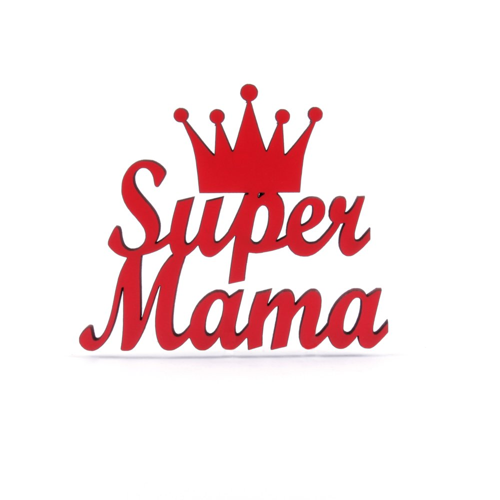 Super Mama 14 50 Nogallery 3d Wood Lettering Made In Colo