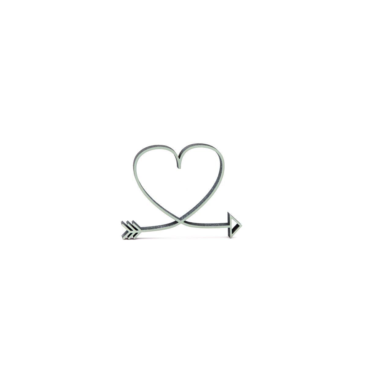 symbol herz mit pfeil