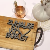 Zuhause Ist Wo zuhause ist wo papa ist 14 50 nogallery 3d wood lettering