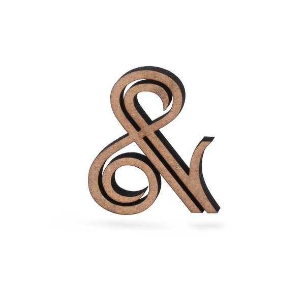 Dein Buchstabe oder Zeichen, 12,50 € - NOGALLERY - 3D Holzschrif
