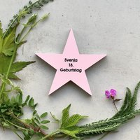 Star with Text