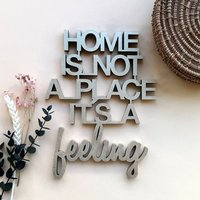 Home is not a place it´s a feeling